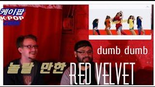 Red Velvet 레드벨벳 Dumb Dumb MV (NON KPOPFAN)미국인  REACTION  반응