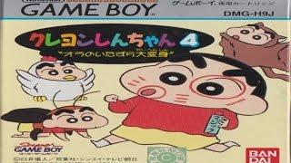 Crayon Shin-chan 4: Ora no itazura dai henshin - Game Boy Longplay - NO DEATH RUN (FULL GAMEPLAY)