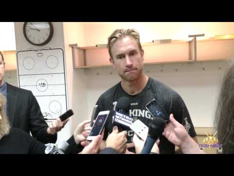LA Kings Forward Jeff Carter vs. Anaheim, February 27, 2015