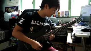 Born Of Osiris - Follow The Signs (Guitar Solo Cover)