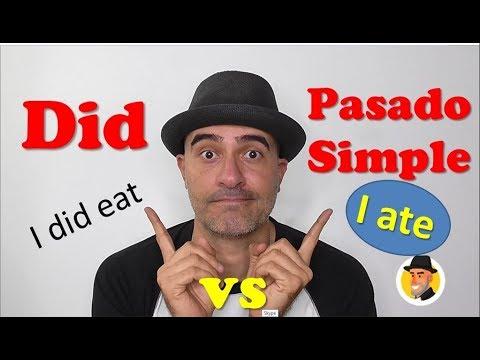 Did vs Pasado Simple ¿ Cuál usar? / Alejo Lopera Inglés