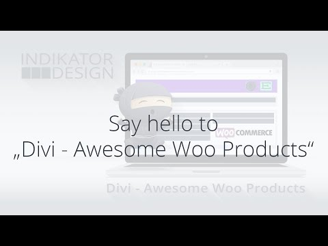 Awesome Woo Products for Divi