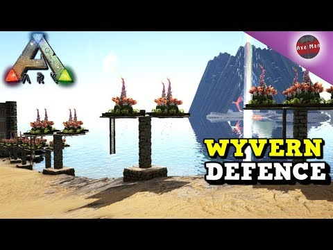 WYVERN DEFENCE, PLANT SPECIES X  | ARK SURVIVAL EVOLVED [S4E14]