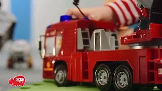Пожежна машина з водою, світлом і звуком 43 см, арт. 3716003, Dickie Toys