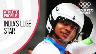 The Indian Luger Training for the Winter Olympics on Himalayan Highways | Athlete Profiles