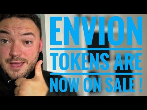 Envion tokens are NOW on sale on a exchange, & look at some new ICOs