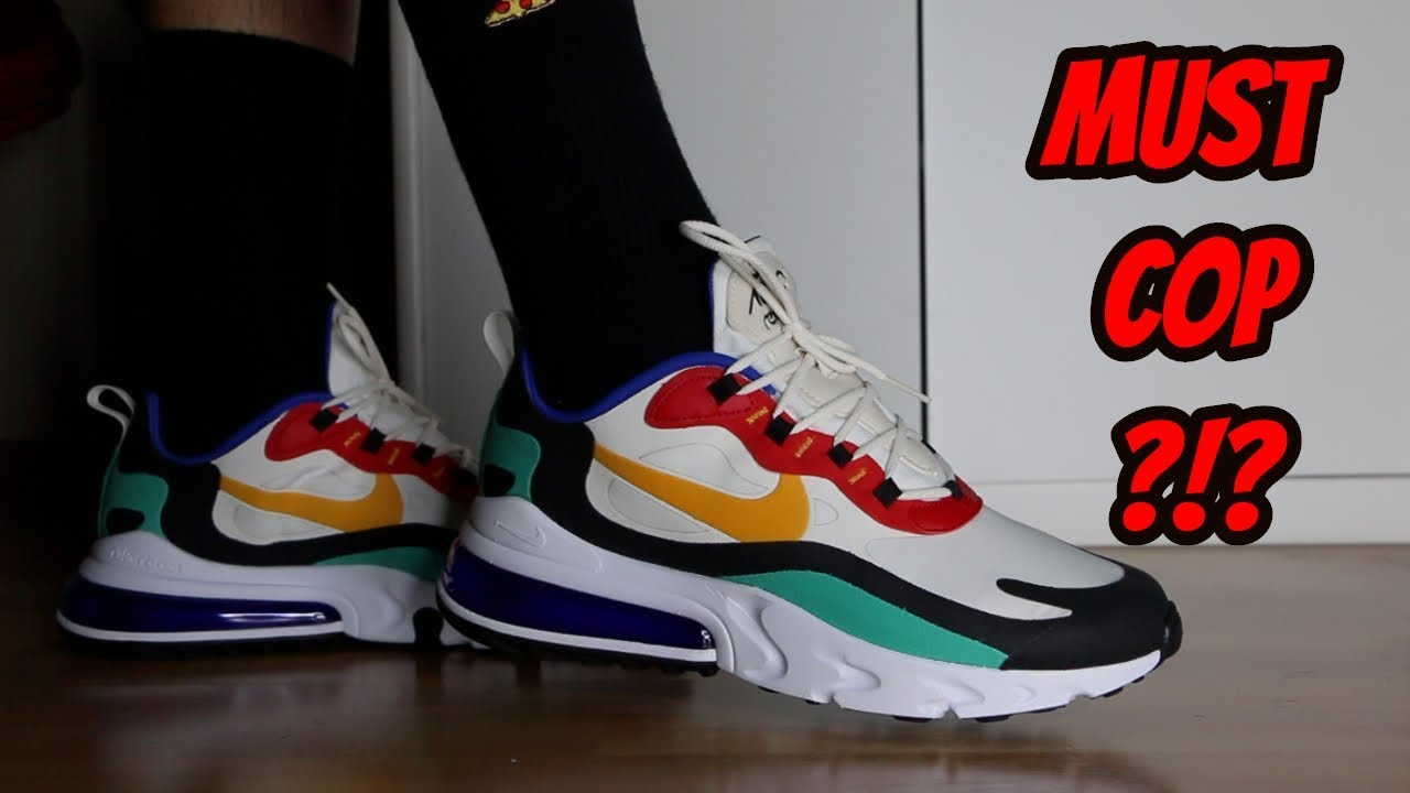 A MUST COP?!? Nike Air Max 270 React ReviewOn Feet