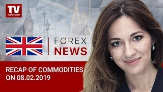 InstaForex tv news: 08.02.2019: Is Russia to withdraw from OPEC+? (BRENT, WTI, USD/CAD)