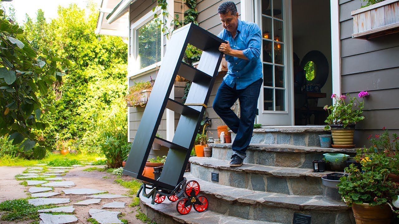 Say Hello To The UpCart Deluxe | UpCart Stair Climbing Carts