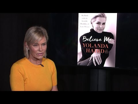 Yolanda Hadid shares Lyme Disease battle in new book