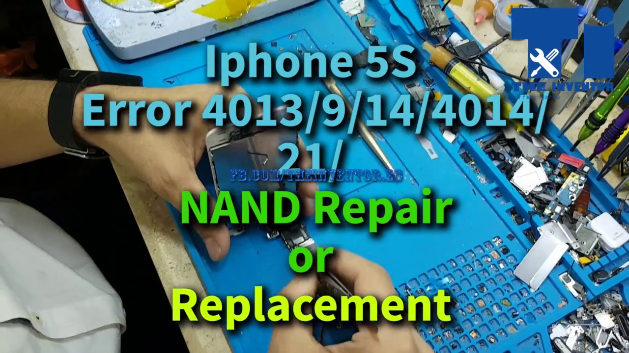 Iphone 5S 6 6plus ERROR 4013 4014 40 14 9 21 done with naviplus pro