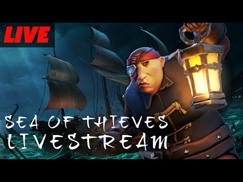 Sea Of Thieves Launch Livestream with Kraken!
