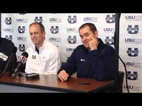 Josh Heupel introduced as new OC at USU