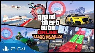 GTA Online | Transform Races Trailer | PS4