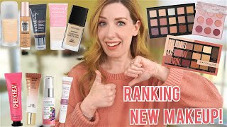 RANKING ALL THE NEW DRUGSTORE MAKEUP | BEST TO WORST