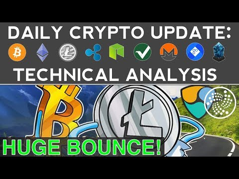 HUGE ALTCOIN BOUNCE: LITECOIN, IOTA, NEM SOAR! (12/8/17) Daily Update + Technical Analysis