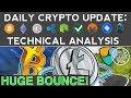HUGE ALTCOIN BOUNCE: LITECOIN, IOTA, NEM SOAR! (12/8/17) Daily Update + Technical Analysis