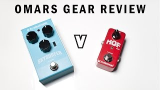 Sky Surfer Reverb vs. Hall of Fame (mini) by TC Electronic