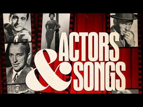 Actors & songs - Marlon Brando, Frank Sinatra, Marlene Dietrich...