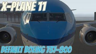 запуск Боинга 737-800 в X-Plane 11