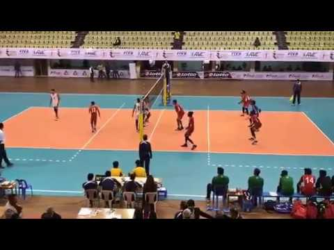 central zone volleyball nepal vs maldives (4th set)