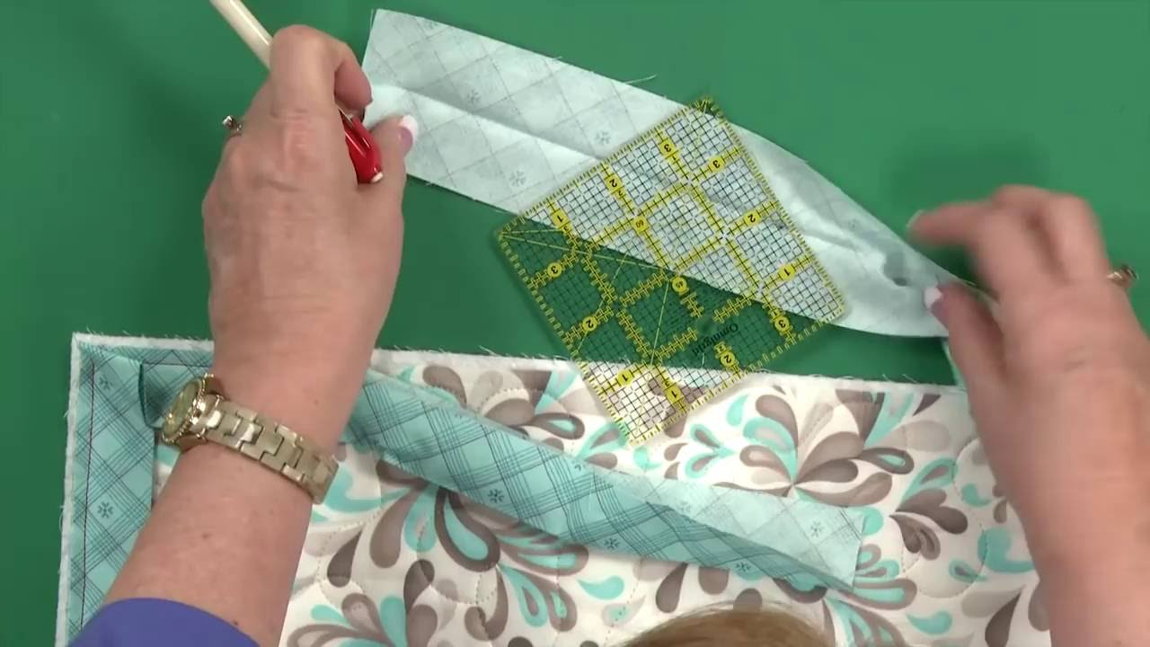 Sew Easy: Quilt Binding - Corners, Techniques and More! - YouTube : quilting binding - Adamdwight.com