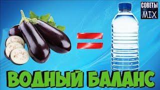 топ 12 продуктов, поддерживающий водный баланс без воды