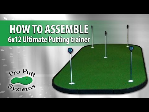 How To Assemble Ultimate Putting Trainer