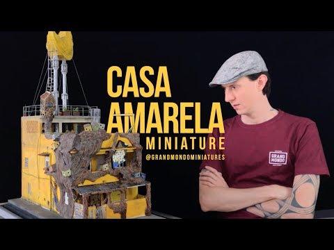 JR / Casa Amarela Miniature Diorama (2019)