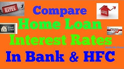 Watch Home Loan Interest Comparison before taking Home Loan