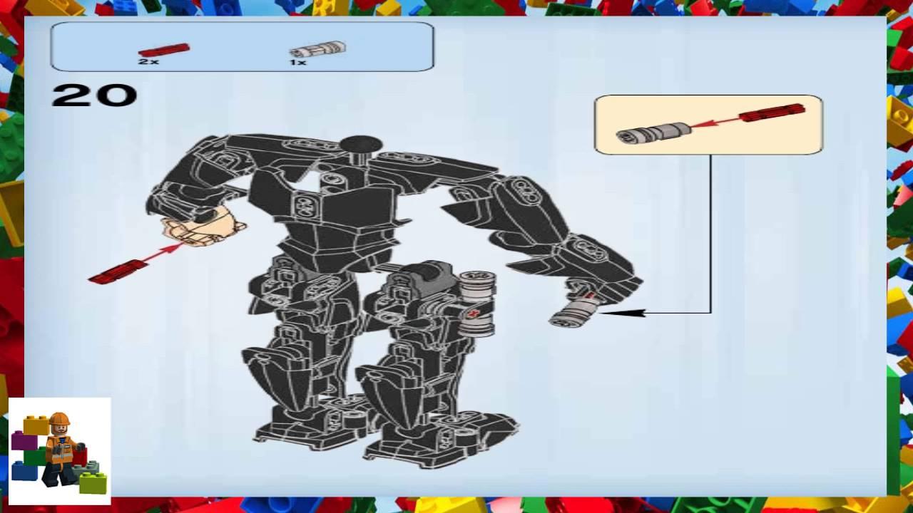 Lego Instructions Constraction Star Wars 75110 Luke Skywalker