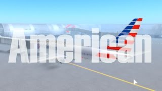 ROBLOX | American Airlines Boeing 737-800 Flight