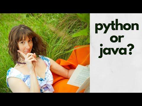 Java или Python? Для начинающих с нуля.
