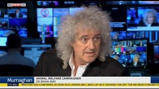 """Murnaghan"" Brian May & Owen Paterson on changing Hunting Act 12072015"