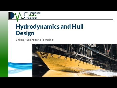 Hydrodynamics and Hull Design:  Linking Hull Shape to Powering
