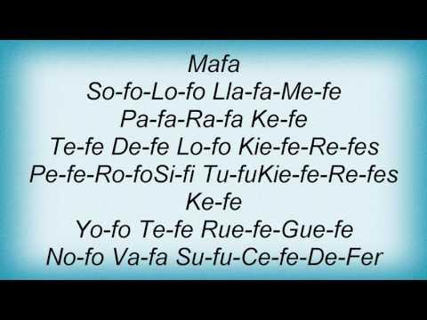 Akwid - Sifi Ofo Nofo Lyrics