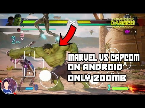 200MB Download Marvel V.S. Capcom Game On Android