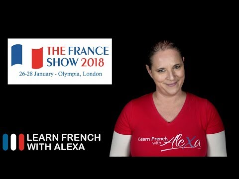 I'm visiting The France Show 2018 !