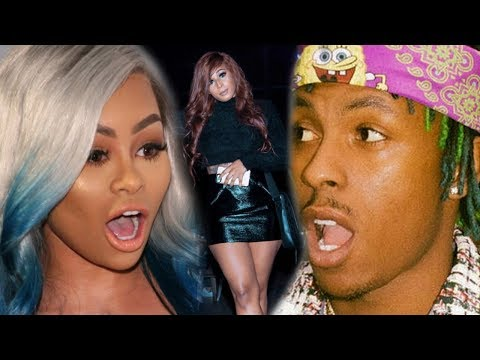 Blacchyna EXPOSED BY Rich The Kid 's WIFE 😡😤