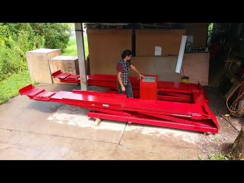 FOR SALE   Hunter Scissor Lift For Wheel Alignment And General Service