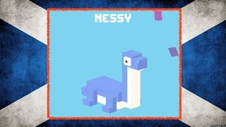 UNLOCK ☆ Nessy ☆ Crossy Road - NEW Mystery Secret Character, the Loch Ness Monster!(Unlock ☆ Nessy ☆ Crossy Road - New Mystery Secret Character, the Loch Ness Monster! NEW Mystery Character with UK & Ireland Update Also in this video ..., 2015-04-04T01:25:25.000Z)