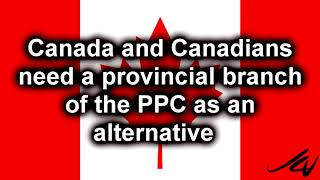 PPC needs to run candidates provincially, like the other parties