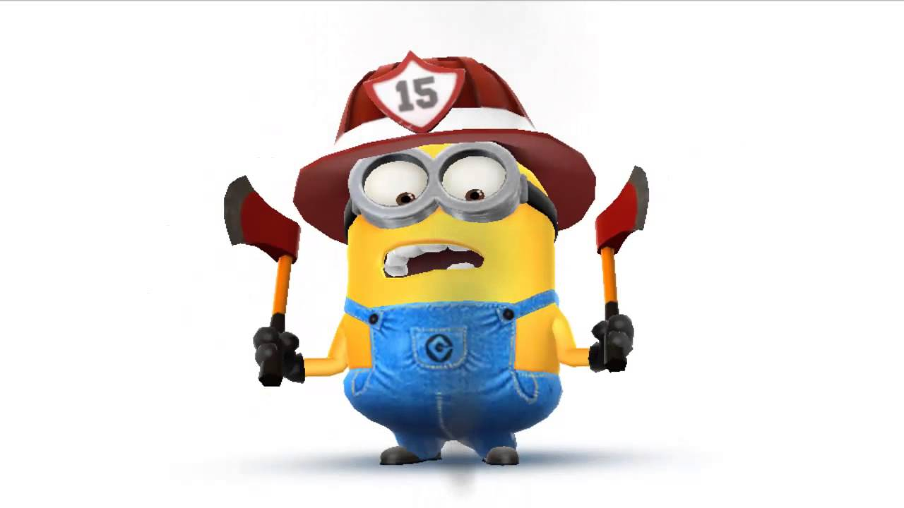 Minion Bombero  YouTube