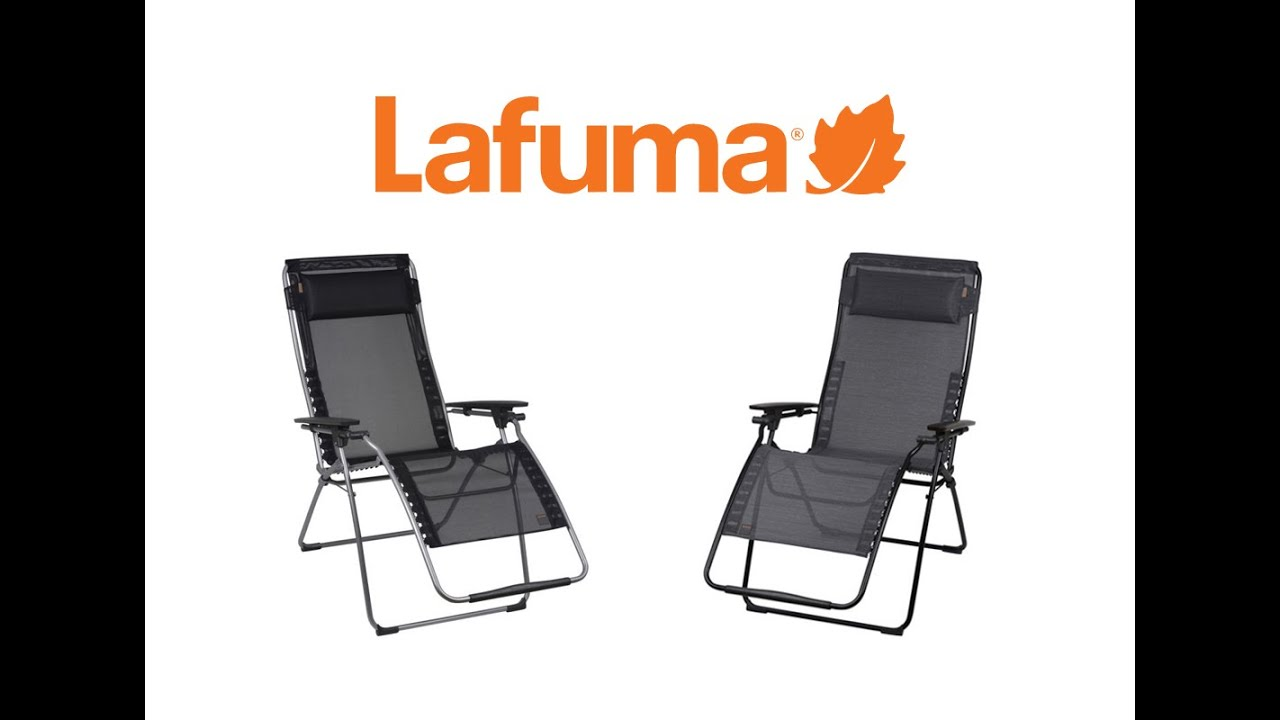 Lafuma Futura And Futura XL Recliners   YouTube
