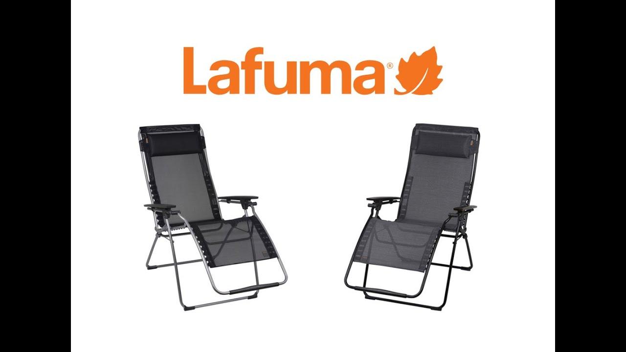 Lafuma Futura Xl Zero Gravity Chair Best Massage Brand And Recliners Youtube