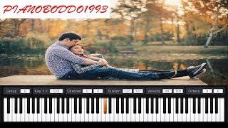 عزف الاغنية التركية الرائعة تعال الي بيانو | mene gel piano
