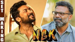 NGK Making Story | Art Director Vijay Murugan