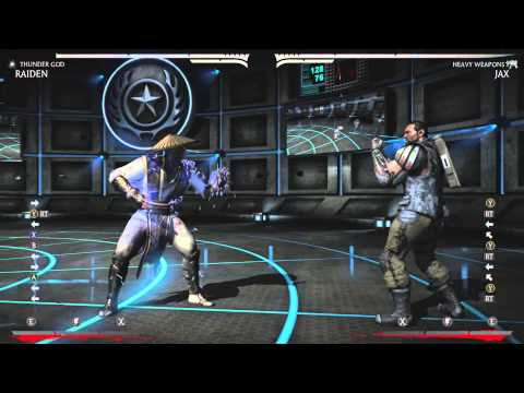 Mortal Kombat X: Anti Airing with Armor Attacks