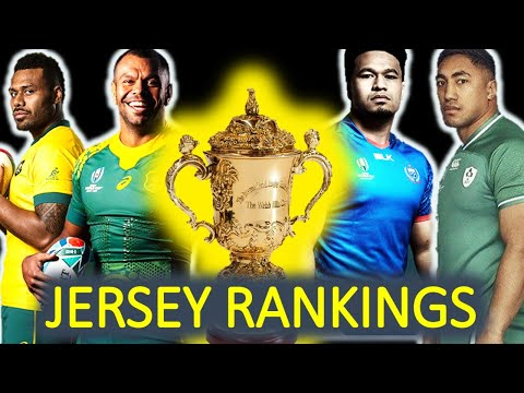 JERSEY RANKINGS | Rugby World Cup 2019 | Part 1