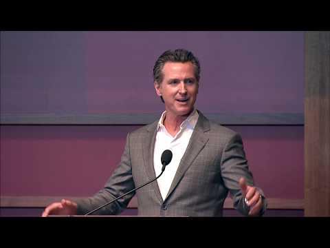 Stanford HAI 2019 - Keynote: Governor Gavin Newsom